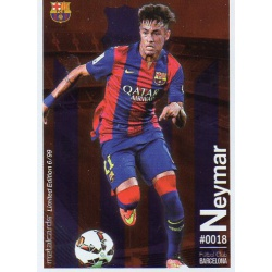 Neymar Metalcard Limited Edition Barcelona