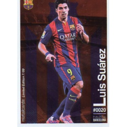 Luis Suárez Metalcard Limited Edition Barcelona
