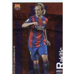 Ivan Rakitic Metalcard Limited Edition Barcelona