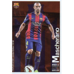 Mascherano Metalcard Limited Edition Barcelona