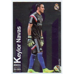 Keylor Navas Metalcard Limited Edition Real Madrid