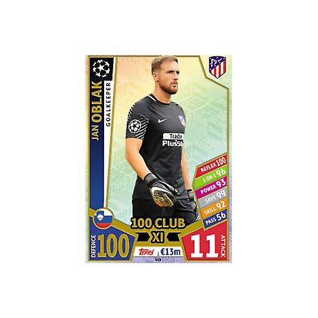 Jan Oblak UCL 100 Club XI 419
