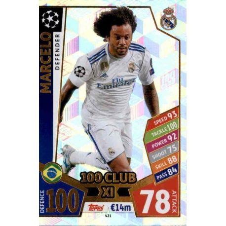 Marcelo UCL 100 Club XI 421