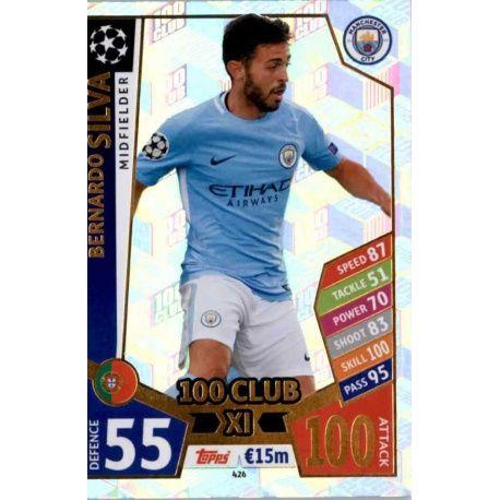 Bernardo Silva UCL 100 Club XI 426