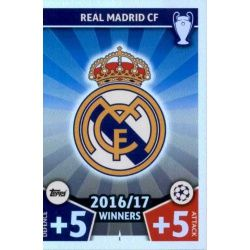 Escudo Real Madrid 1 Match Attax Champions 2017-18