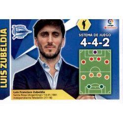 Luis Zubeldia Alavés 2 Ediciones Este 2017-18