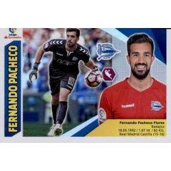 Fernando Pacheco Alavés 1 Ediciones Este 2017-18