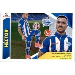 Héctor Alavés 7 Ediciones Este 2017-18