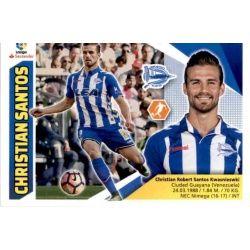 Christian Santos Alavés 11 Ediciones Este 2017-18