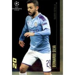Bernardo Silva Manchester City Talento Estrella Topps Champions League Lionel Messi