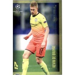 Kevin de Bruyne Manchester City Talento Estrella Topps Champions League Lionel Messi