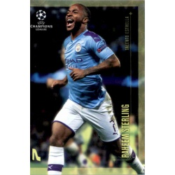 Raheem Sterling Manchester City Talento Estrella Topps Champions League Lionel Messi