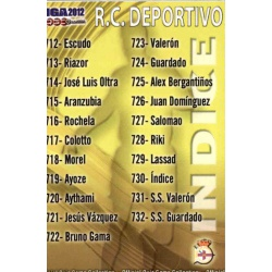Índice Deportivo 730