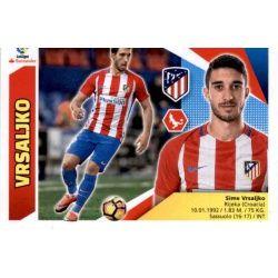Vrsaljko Atlético Madrid 4A Ediciones Este 2017-18