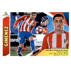 Giménez Atlético Madrid 4B Ediciones Este 2017-18