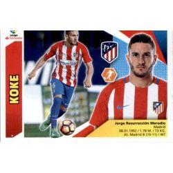 Koke Atlético Madrid 9 Ediciones Este 2017-18