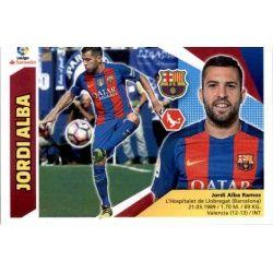 Jordi Alba Barcelona 7A Ediciones Este 2017-18