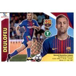 Deulofeu Barcelona Coloca Ediciones Este 2017-18