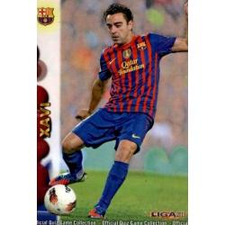 Xavi Barcelona 42 Las Fichas de la Liga 2013 Official Quiz Game Collection