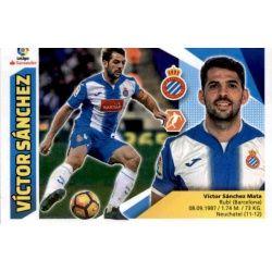 Víctor Sánchez Espanyol 8 Ediciones Este 2017-18