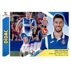 Dídac Espanyol Coloca Ediciones Este 2017-18