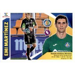 Emi Martínez Getafe 2 Ediciones Este 2017-18