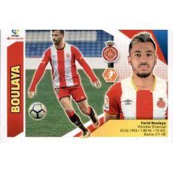 Boulaya Girona 13A Ediciones Este 2017-18