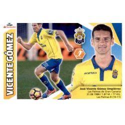 Vicente Gómez Las Palmas 8 Ediciones Este 2017-18