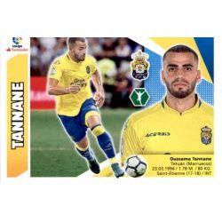 Tannane Las Palmas Coloca Ediciones Este 2017-18