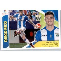 Diego Rico Leganés 4 Ediciones Este 2017-18