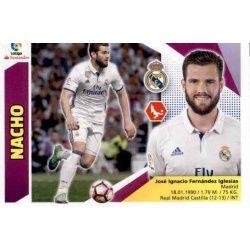 Nacho Real Madrid 4B Ediciones Este 2017-18