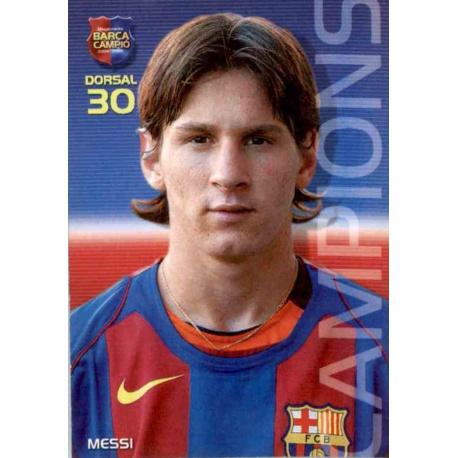Leo Messi Megacracks Barça Campió 2004-05 35 Leo Messi
