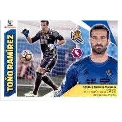 Toño Ramírez Real Sociedad 2 Ediciones Este 2017-18