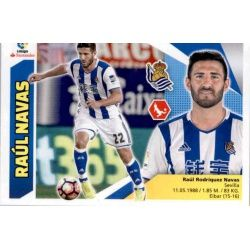 Raúl Navas Real Sociedad 5 Ediciones Este 2017-18
