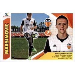 Maksimovic Valencia 8 Ediciones Este 2017-18