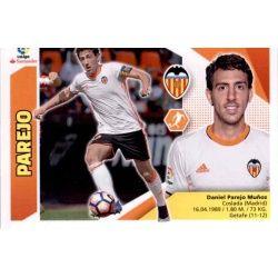 Parejo Valencia 11 Ediciones Este 2017-18