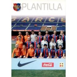 Plantilla 1 Megacracks Barça Campió 2004-05