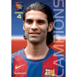 Rafael Márquez Megacracks Barça Campió 2004-05