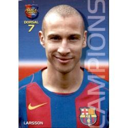 Henrik Larsson Megacracks Barça Campió 2004-05