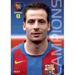 Ludovic Giuly Megacracks Barça Campió 2004-05