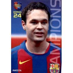 Andrés Iniesta Megacracks Barça Campió 2004-05