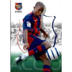 Samuel Eto'o Megacracks Barça Campió 2004-05