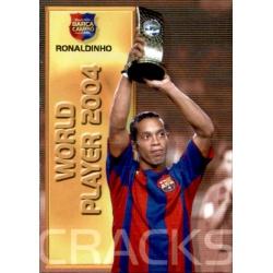 Ronaldinho - World Player 2004 Megacracks Barça Campió 2004-05