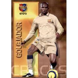 Samuel Eto'o - Golejador Megacracks Barça Campió 2004-05
