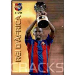 Samuel Eto'o - Rei dAfrica Megacracks Barça Campió 2004-05