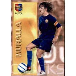 Carles Puyol - Muralla Megacracks Barça Campió 2004-05