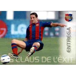 Entrega Megacracks Barça Campió 2004-05