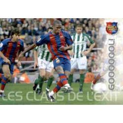 Gol (Eto'o) Megacracks Barça Campió 2004-05