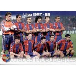 Lliga 1997/98 Megacracks Barça Campió 2004-05