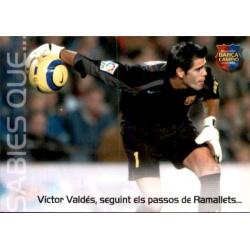 Victor Valdés Megacracks Barça Campió 2004-05